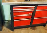 "Craftsman 8 Drawer Workbench, 33.5"" x 56"" x 22.5"", Contents Not Included, SECOND DAY LOADOUT ONLY - 2"