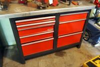 "Craftsman 8 Drawer Workbench, 33.5"" x 56"" x 22.5"", Contents Not Included, SECOND DAY LOADOUT ONLY - 3"