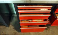 "Craftsman 8 Drawer Workbench, 33.5"" x 56"" x 22.5"", Contents Not Included, SECOND DAY LOADOUT ONLY - 4"