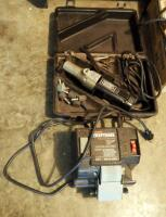 Craftsman Wet Sharp Machine; And Electric Hand Grinder, Model 315.17330, Includes Bits And Carrying Case - 2