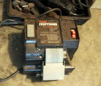 Craftsman Wet Sharp Machine; And Electric Hand Grinder, Model 315.17330, Includes Bits And Carrying Case - 3