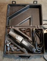 Craftsman Wet Sharp Machine; And Electric Hand Grinder, Model 315.17330, Includes Bits And Carrying Case - 4
