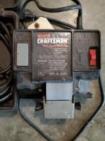 Craftsman Wet Sharp Machine; And Electric Hand Grinder, Model 315.17330, Includes Bits And Carrying Case - 5