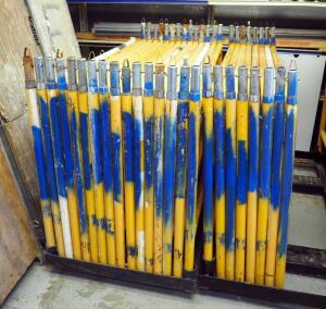 Granite Industries 5x3 Steel Scaffold Frames Qty 12 Sets, Included Coupling Pins No Bases