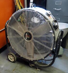 Xtreme Garage 3 Speed 30in Drum Fan On Wheels Model # HVD-30T