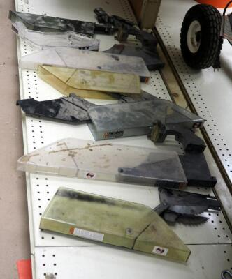 Saw Blade Covers, Assorted Styles, Qty 8