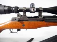 Ruger Mini-14 Ranch .223 Cal Rifle SN# 581-32829, With Barska Scope And Nylon Sling - 15
