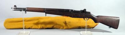 "H & R Arms US Rifle 30 M1 Rifle SN# 5717362, Korean War Era, ""Angel"" Carved On Butt Stock, In Military Softcase (No Pull On Zipper)"