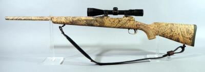 Savage Model 10 22-250 REM Bolt Action Rifle SN# G657141, With Nikon ProStaff 3-9x Scope And Leather Sling
