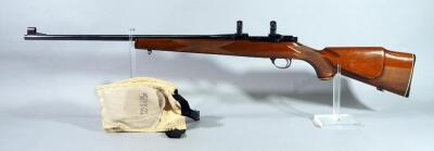 Sako Vixen L461 .222 Cal Bolt Action Rifle SN# 75499, With Scope Rings And Past Recoil Protection Shoulder Recoil Pad