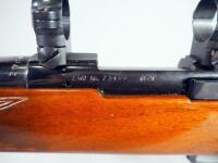 Sako Vixen L461 .222 Cal Bolt Action Rifle SN# 75499, With Scope Rings And Past Recoil Protection Shoulder Recoil Pad - 7