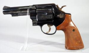 Smith & Wesson Model 58 .41 Mag 6-Shot Revolver SN# S258593, SN# Is Under Grip