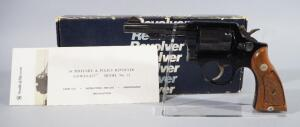 Smith & Wesson Model 12-4 .38 Special 6-Shot Revolver SN# ADK9064, With Paperwork And Tools, New, In Original Box