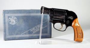 Smith & Wesson Model 38 .38 Special 5-Shot Revolver SN# J240031, With Paperwork, New, In Original Box