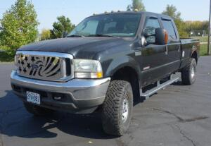 2004 Ford F-350 Super Duty 4X4 Crew Cab Off Road Pickup Truck, Turbo V8 Diesel, 6.0L, 155,458 Miles, VIN # 1FTSW31P24EA23714, Very Weak Brakes, Rust, SEE DESCRIPTION FOR VIDEO