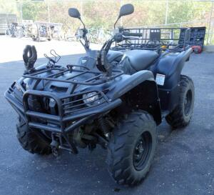 2014 Yamaha 700 Grizzly Special Edition ATV, 266 Miles, 177.1 Hrs, Winch, Power Steering, Back Rack, Push Bar, Tow Hitch, Kolpin Gun Mounts, SEE DESCRIPTION FOR VIDEO