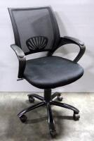 Pair Of Rolling Swivel Office Chairs, Both Tilt And Have Adjustable Heights - 6