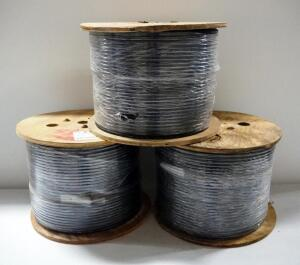 OFS Optical Cable Believed To Be 2000 ft Per Spool, Qty 3