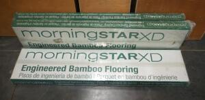 Morning Star XD Engineered Bamboo Flooring, 3 Total Cartons, Each Carton Covers 20.48 Square Feet