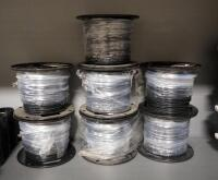 General Cable ThermoPlastic-Insulated Wire, THHN 14, Total Qty 7 Rolls, 500 ft Per Role, Some Opened