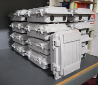 Cable Guard Enclosure System Wire Boxes, Qty 17 - 2