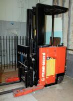 Prime Mover Electric Fork Lift Model RR30C, 2125 Hours, Internal Battery Needs Replaced, Click For Details Includes Exide Lead Acid Battery Charger, NPC12-3-850L, Hardwired In, Bidder Responsible For Proper Removal - 7