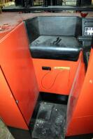 Prime Mover Electric Fork Lift Model RR30C, 2125 Hours, Internal Battery Needs Replaced, Click For Details Includes Exide Lead Acid Battery Charger, NPC12-3-850L, Hardwired In, Bidder Responsible For Proper Removal - 10
