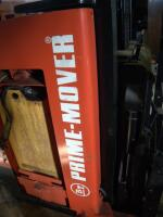 Prime Mover Electric Fork Lift Model RR30C, 2125 Hours, Internal Battery Needs Replaced, Click For Details Includes Exide Lead Acid Battery Charger, NPC12-3-850L, Hardwired In, Bidder Responsible For Proper Removal - 18