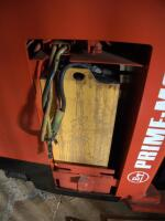 Prime Mover Electric Fork Lift Model RR30C, 2125 Hours, Internal Battery Needs Replaced, Click For Details Includes Exide Lead Acid Battery Charger, NPC12-3-850L, Hardwired In, Bidder Responsible For Proper Removal - 20