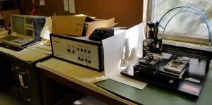 Dahlgren System One Computer Controlled Engraving Machine, Including Radio Shack TAS-80, Control System, Engraving Machine, And Motor Speed Controller