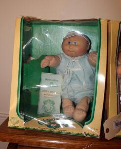 Coleco Vintage Cabbage Patch Doll With Original Paperwork And Box