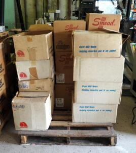 Ampad Legal Pads, Note Pads, Add Rolls, File Folders, Manilla Folders And More, Contents of Pallet