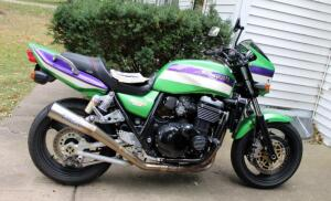 2000 Kawasaki ZR1100-C Motorcycle, VIN # JKAZRBC1XYA033360, Mileage Showing On Odometer 60,479, See Description For More Details And Video