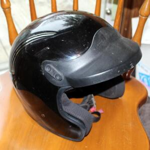 Bell Tour Lite SC Motorcycle Helmet, Snell M200 DOT Approved, Size Not Marked