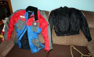 Fieldsheer Hi Performance Mens Jacket Size XL, And Mens Riding Jacket Size Unmarked Appears To Be Size Small