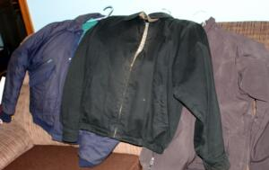Mens Jackets Including Aberdeen Collection Size Med, Port Authority Size Med, And Eagles Ridge Size Medium