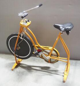 Vintage Schwinn Exerciser Stationary Exercise Bike, Controls Include Speedometer/Odometer (Non-Functioning), Tension Control And Timer
