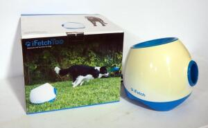 iFetch Too Automated Ball Launcher For Dogs, In Box, Power Light Comes On But Untested