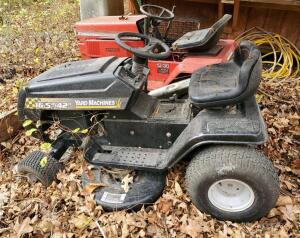 MTD 42 Inch Riding Lawn Mower With 16.5 HP, Unknown Working Order, No Key