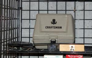 Craftsman Electric Router Model 315.17380, Includes Carrying Case And Assorted Router Bits