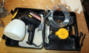 Wagner Electric Wide Shot Power Painter, Includes Accessories And Carrying Case