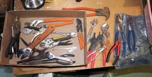 Plier And Adjustable Wrench Assortment, Contents Of Box