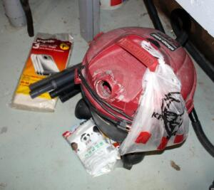 10 Gallon Electric Shop Vac Including Filters And Filter Bags