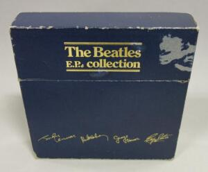 "The Beatles E.P. Collection, 15 x 7"" Vinyl, 45rpm, Picture Sleeves, Parlophone Labels, Push-Out Centre, 1981 Box Set, BEP-14"