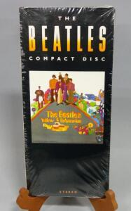 The Beatles Yellow Submarine Longbox Long Box CD West Germany, Sealed, New