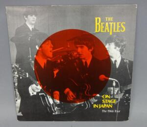 The Beatles On Stage In Japan The 1966 Tour, 1984 Concert Series Records Release, Unofficial Release, NM Vinyl