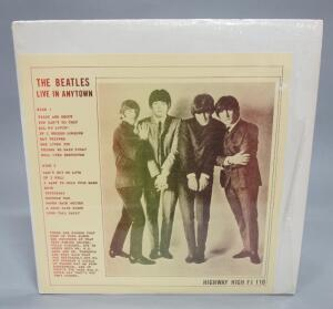 The Beatles Live In Anytown, Highway High FI 110, Unofficial Release, NM Vinyl