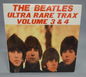 The Beatles Ultra Rare Trax Volume 3 And 4, 2 x LP, BEEB Transcription Records, Unofficial Release, NM Vinyl