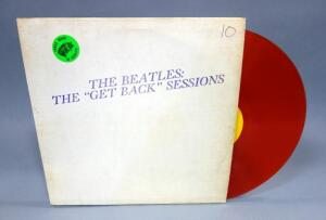 "The Beatles The ""Get Back"" Sessions, Orange Colored Vinyl, Unofficial Release, VG Vinyl"