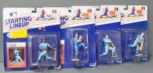 Kansas City Royals Starting Lineup Collectible Figures, Total Qty 4, See Description For Characters